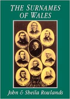 copertina The surnames of Wales